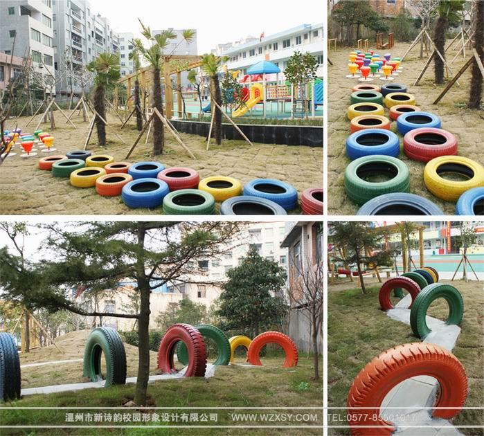 详细信息  龙湾区第六幼儿园-户外景观工程   图片